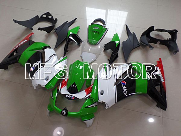 Kawasaki NINJA EX250 2008-2012 Injection ABS Fairing - Factory Style - Black Green - MFS6148