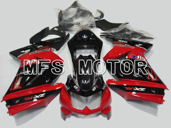 Kawasaki NINJA EX250 2008-2012 Injection ABS Fairing - Factory Style - Black Red - MFS6154