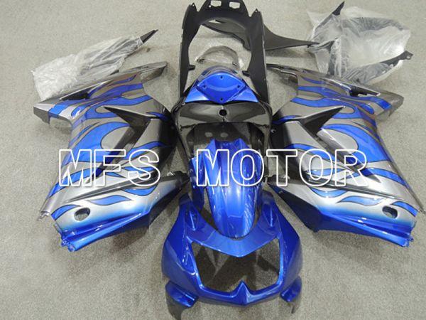 Kawasaki NINJA EX250 2008-2012 Injection ABS Fairing - Flame - Blue Silver - MFS6169