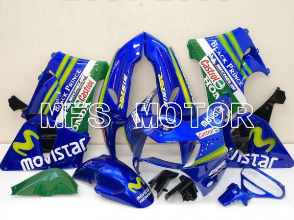 Honda CBR900RR 919 1998-1999 ABS Fairing - Movistar - Blue - MFS6196