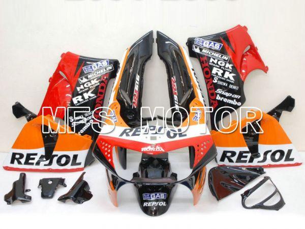 Honda CBR900RR 919 1998-1999 ABS Fairing - Repsol - Black Red Orange - MFS6201