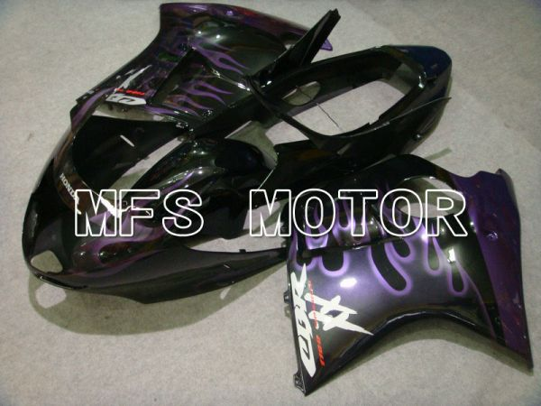 Honda CBR1100XX 1996-2007 Injection ABS Fairing - Flame - Black Purple - MFS6213