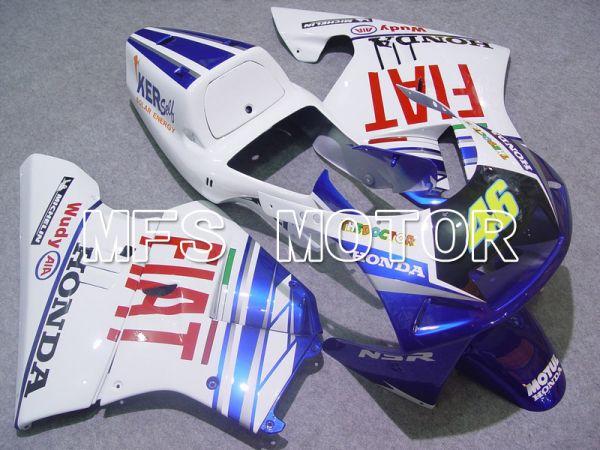 Honda NSR250 MC21 P3 1990-1993 Injection ABS Fairing - FIAT - Blue White - MFS6227
