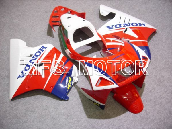 Honda NSR250 MC21 P3 1990-1993 Injection ABS Fairing - Factory Style - Red White - MFS6233