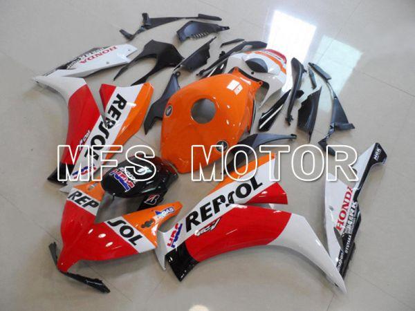 Honda CBR1000RR 2012-2016 Injection ABS Fairing - Repsol - White Orange Red - MFS6249