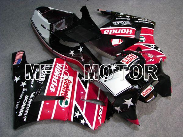 Honda RVF400R NC35 1994-1998 ABS Fairing - Castrol - Black Pink - MFS6269