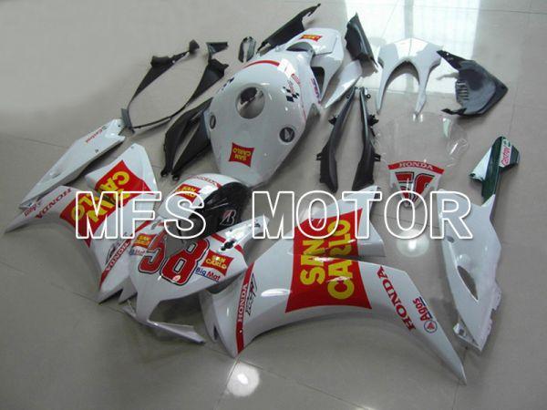 Honda CBR1000RR 2012-2016 Injection ABS Fairing - San Carlo - Red White - MFS6287