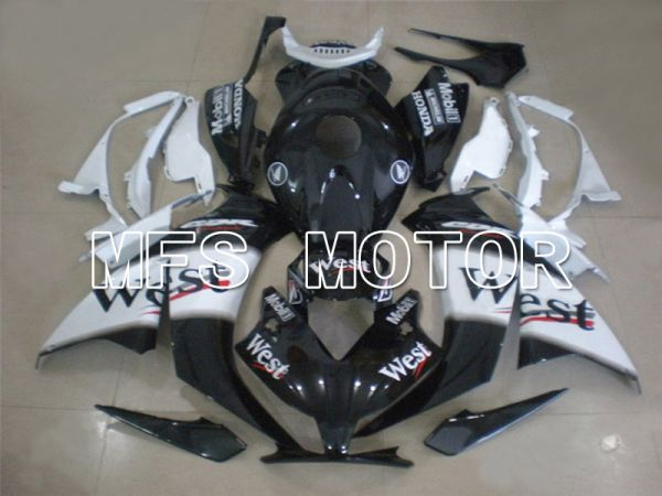 Honda CBR1000RR 2012-2016 Injection ABS Fairing - West - Black White - MFS6289