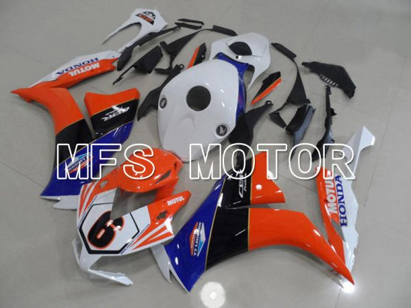Honda CBR1000RR 2012-2016 Injection ABS Fairing - MOTUL - White Orange - MFS6310