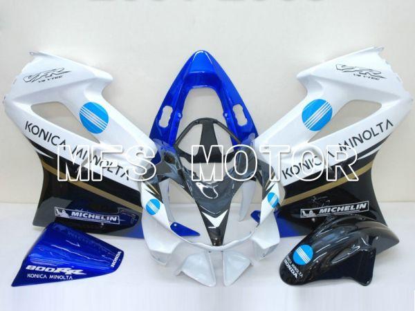 Honda VFR800 2002-2013 Injection ABS Fairing - Konica Minolta - Black White - MFS6318