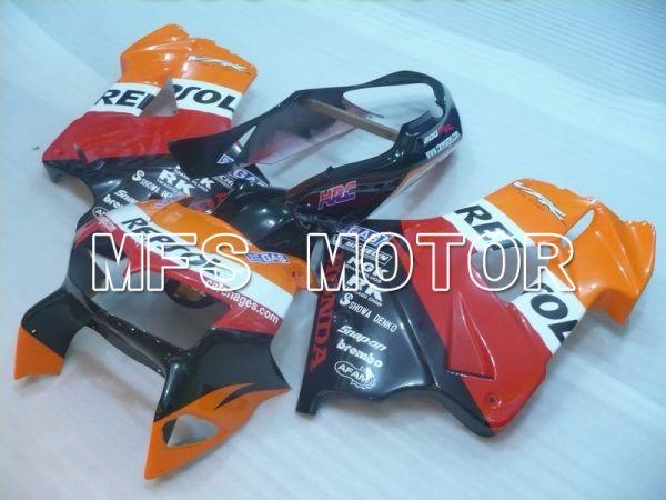 Honda VFR800 1998-2001 ABS Fairing - Repsol - Red Black Orange - MFS6381