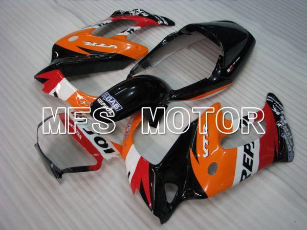 Honda VTR1000F 1997-1998 ABS Fairing - Repsol - Red Orange Black - MFS6411