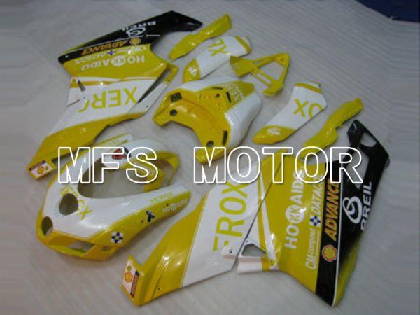 Ducati 749 / 999 2003-2004 Injection ABS Fairing - Xerox - Yellow White - MFS6427