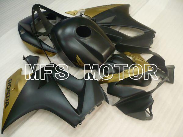 Honda VFR800 1998-2001 ABS Fairing - Factory Style - Black Gold Matte - MFS6468