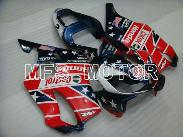 Honda CBR600 F4i 2001-2003 Injection ABS Fairing - Others - Blue Red - MFS3144