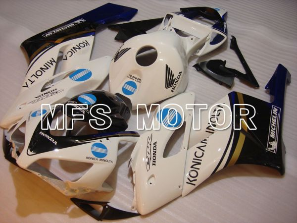 Honda CBR1000RR 2004-2005 Injection ABS Fairing - Konica Minolta - White - MFS2551
