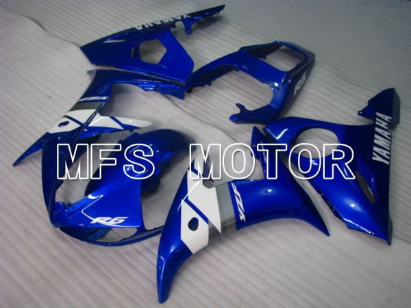 Yamaha YZF-R6 2005 Injection ABS Fairing - Factory Style - Blue White - MFS3665