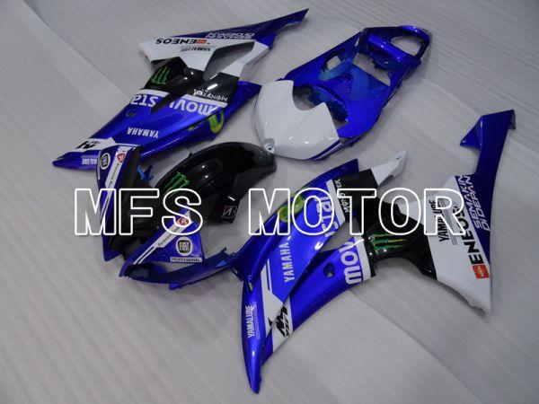 Yamaha YZF-R6 2008-2016 Injection ABS Fairing - Monster - Blue Black - MFS3850