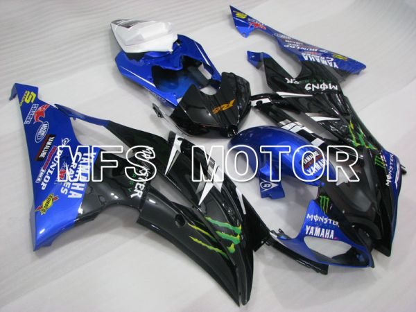 Yamaha YZF-R6 2008-2016 Injection ABS Fairing - Monster - Blue Black - MFS3860
