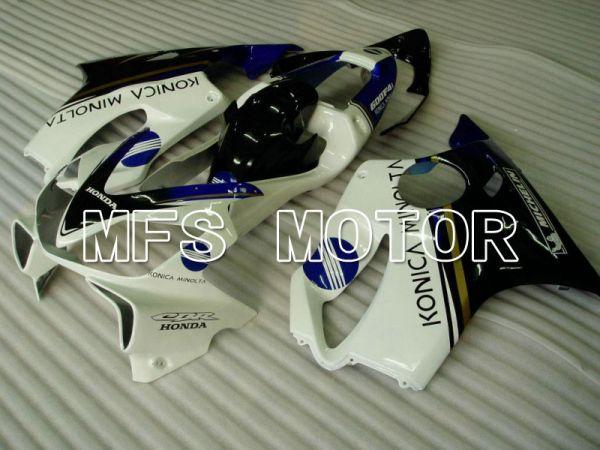 Honda CBR600 F4i 2001-2003 Injection ABS Fairing - Konica Minolta - Black White - MFS4686