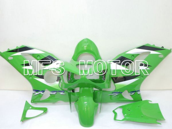 Kawasaki NINJA ZX6R 2003-2004 Injection ABS Fairing - Factory Style - Green - MFS6437