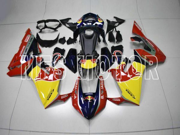 Honda CBR1000RR 2017-2019 Injection ABS Fairing - Red Bull - Red Black - MFS8374