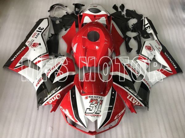 Honda CBR600RR 2013-2019 Injection ABS Fairing - Ohters - Black White Red - MFS8362