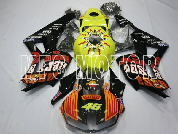 Honda CBR600RR 2013-2019 Injection ABS Fairing - Rossi - Yellow Orange - MFS8354