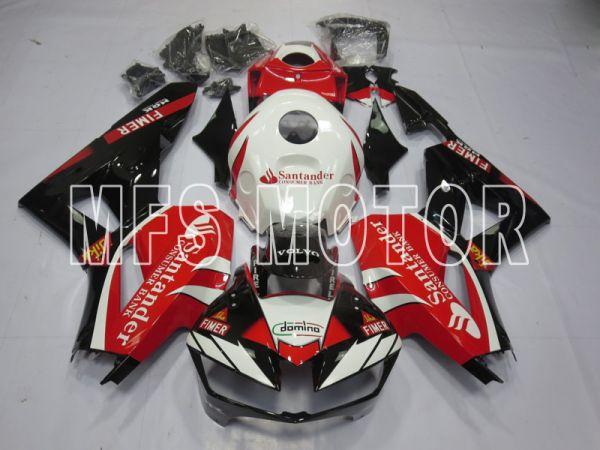 Honda CBR600RR 2013-2019 Injection ABS Fairing - Santander - Red White - MFS8355