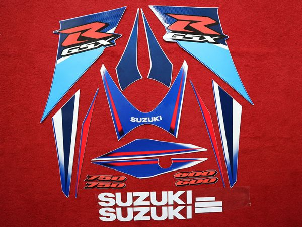 Motorcycle Fairings Decal / Sticker For Suzuki GSXR600-750 2006-2007