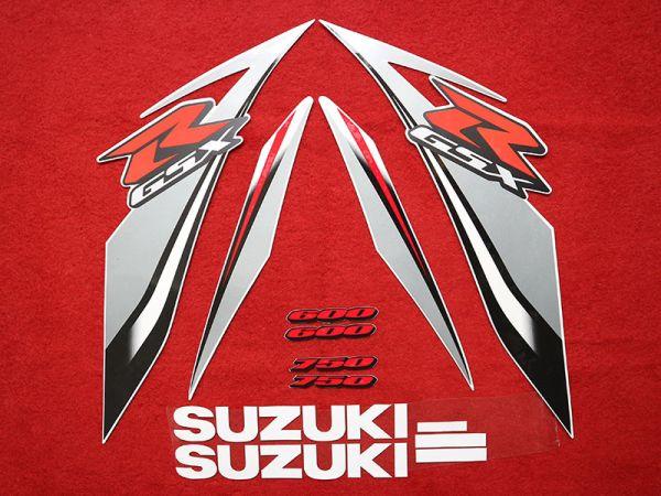 Motorcycle Fairings Decal / Sticker For Suzuki GSXR600-750 2008-2009