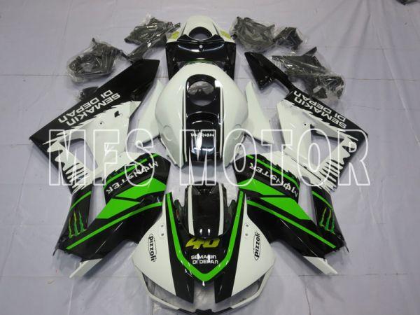 Honda CBR600RR 2013-2019 Injection ABS Fairing - Ohters - Black White Green - MFS8356