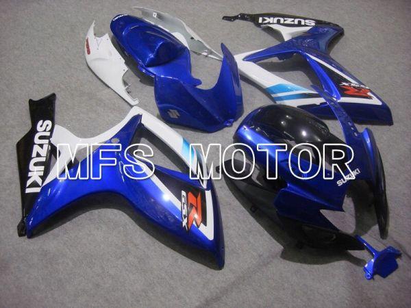 Suzuki GSXR600 GSXR750 2006-2007 Injection ABS Fairing - Factory - Blue White - MFS4961