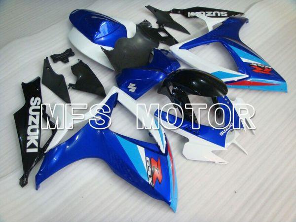 Suzuki GSXR600 GSXR750 2006-2007 Injection ABS Fairing - Factory - Blue White - MFS4962