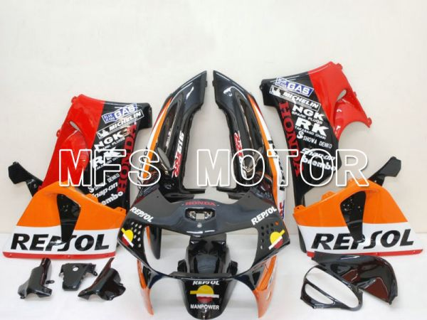 Honda CBR900RR 919 1998-1999 ABS Fairing - Repsol - Black Red Orange - MFS6488