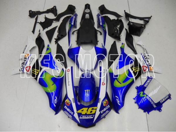 Yamaha YZF-R1 2015-2020 Injection ABS Fairing - Others - Blue White Black - MFS8437