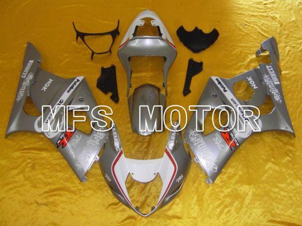 Suzuki GSXR1000 2003-2004 Injection ABS Fairing - Beacon - Silver - MFS5544