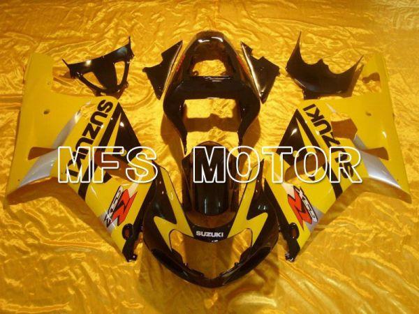 Suzuki GSXR600 2001-2003 Injection ABS Fairing - Factory Style - Black Yellow - MFS4610