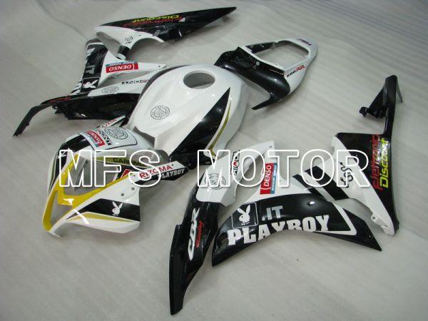 Honda CBR600RR 2007-2008 Injection ABS Fairing - PlayBoy - Black White - MFS5782