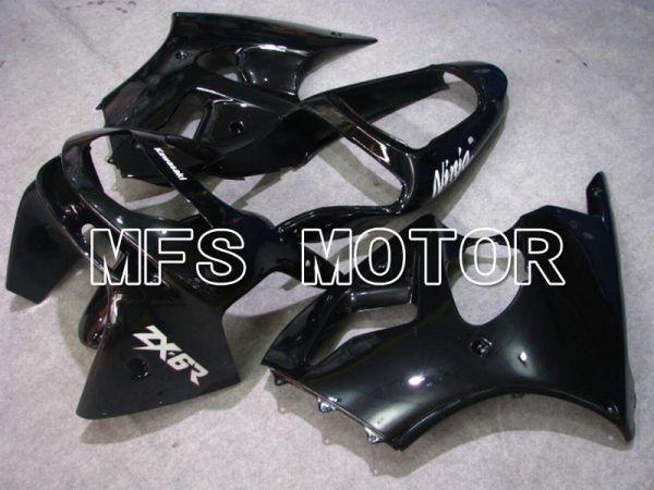 Kawasaki NINJA ZX6R 1998-1999 ABS Fairing - Factory Style - Black - MFS5876