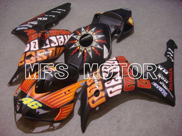 Honda CBR1000RR 2006-2007 Injection ABS Fairing - Rossi - Orange Black - MFS6116