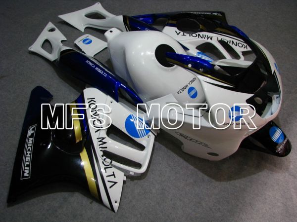 Honda CBR600 F3 1997-1998 Injection ABS Fairing - Konica Minolta - Black White - MFS4935