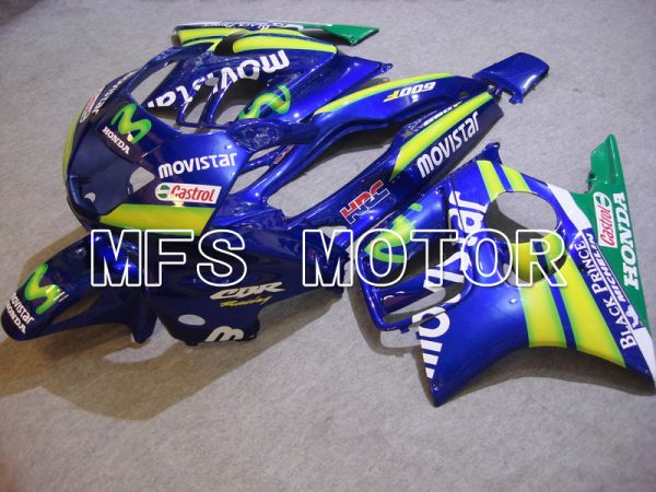 Honda CBR600 F3 1997-1998 Injection ABS Fairing - Movistar - Blue - MFS4939