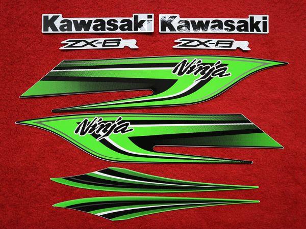 Motorcycle Fairings Decal / Sticker For Kawasaki NINJAZX6R 2009-2012