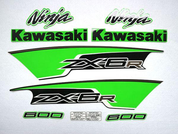 Motorcycle Fairings Decal / Sticker For Kawasaki NINJAZX6R 2012