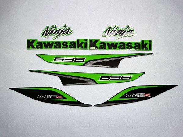 Motorcycle Fairings Decal / Sticker For Kawasaki NINJAZX6R 2013