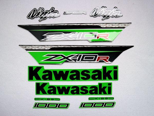 Motorcycle Fairings Decal / Sticker For Kawasaki NINJAZX10R 2011-2015