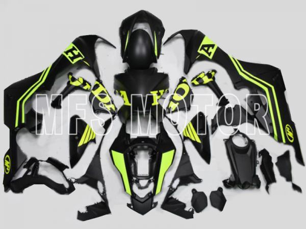 Honda CBR1000RR 2017-2019 Injection ABS Fairing - Others - Black Yellow Matte - MFS8386