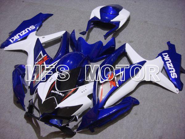 Suzuki GSXR600 GSXR750 2008-2010 Injection ABS Fairing - Factory Style - Blue White - MFS5083