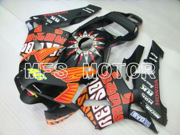 Honda CBR600RR 2003-2004 Injection ABS Fairing - PEPSL - Black Orange Matte - MFS2067